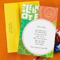 Colorful Party Invitation